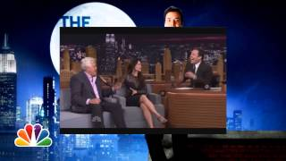 monkey laugh Jimmy Fallon Lucy Lui Jay Leno