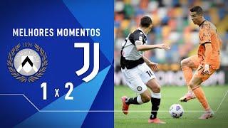UDINESE X JUVENTUS - MELHORES MOMENTOS | CAMPEONATO ITALIANO | 02/05/2021