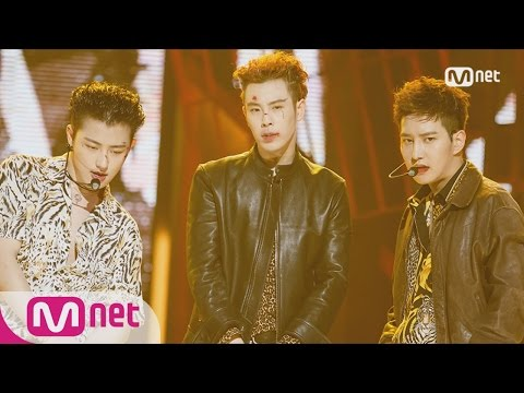 [Block B BASTARZ - Make it rain] Comeback Stage | M COUNTDOWN 161101 EP.499