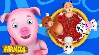 Ringa Ringa Roses | Nursery Rhymes songs | Kids Songs | Baby Rhymes by Farmees