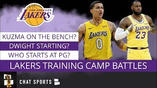 Los Angeles Lakers Rumors: 3 Huge Training Camp Battles Ft. LeBron James, Kyle Kuzma & Dwight Howard