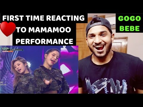 MAMAMOO - gogobebe [Music Bank] REACTION