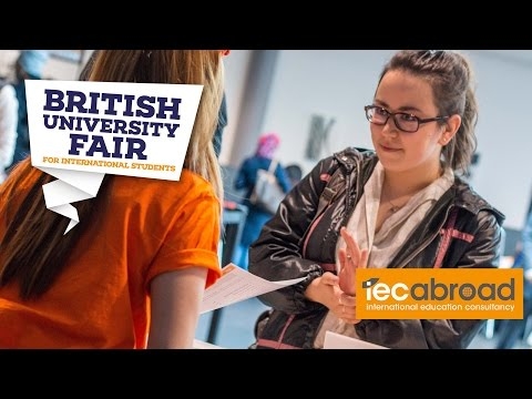 "The British University Fair April 2016 - ""Help and Guidance"""