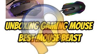 {HINDI} Unboxing best gaming mouse  of the year || 2400 dpi || 6 buttons