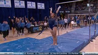 Kyla Ross (UCLA) - Uneven Bars (9.900) - Ohio State at UCLA 2018