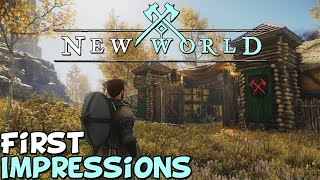 """New World First Impressions """"Is It Worth Playing?"""""""