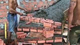Kho Tư liệu Xây dựng - Cách xây bậc thang cầu thang bản 3 vế