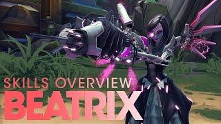 Battleborn - Beatrix Skills Overview
