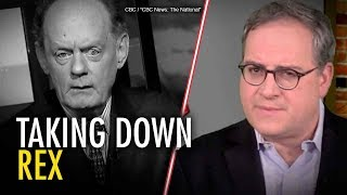 Ezra Levant: CBC promotes attempt to silence Rex Murphy