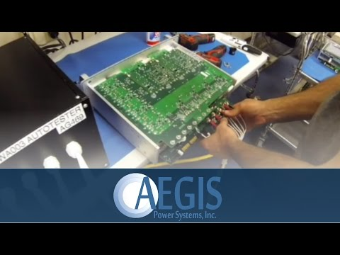 Testing Procedures for Power Supplies - Aegis Power Systems