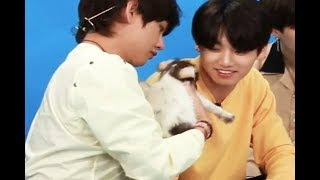 Rm doesn't deny bts dating and jokes about it instead (LA interview 2018 vkook taekook analysis)