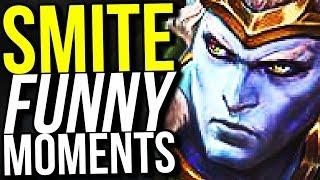 RAMA'S SECRET MOVE! - SMITE FUNNY MOMENTS