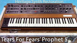 Tears For Fears Prophet 5 Heritage Synth Restoration - Part 1