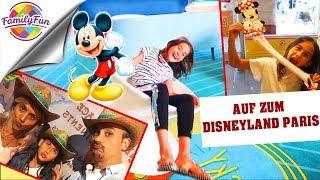 AUF zum DISNEYLAND PARIS MICKY MAUS BESUCHEN - Family Fun on Tour