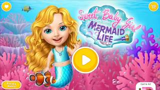 Sweet Baby Girl Mermaid Life | Best game for kids | Pretty Little Princess gameplay | dress up #HD