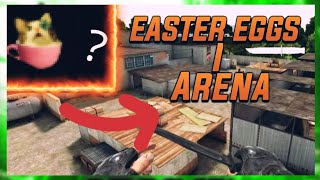 all easter eggs on new map ARENA [0.11.10] | SO2