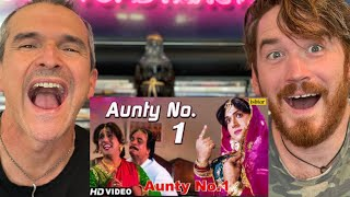 Aunty No.1 Song   Govinda , Kader Khan   Aunty No.1 REACTION!!