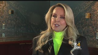 Linda Holliday On The Other Side Of Bill Belichick
