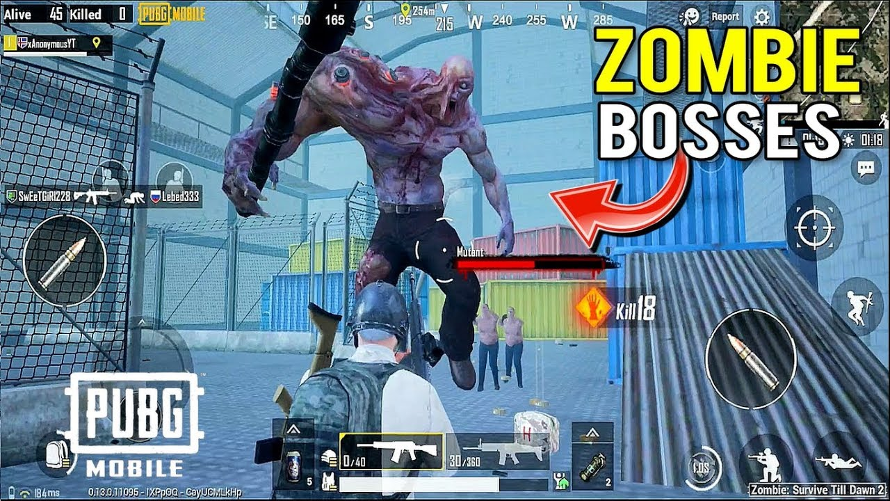 Pubg Mobile Update 0 13 0 New Zombie Boss Gameplay I Pubg Mobile X