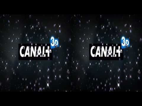 Canal+ 3D France - 2 Idents - March 2011 King Of TV Sat