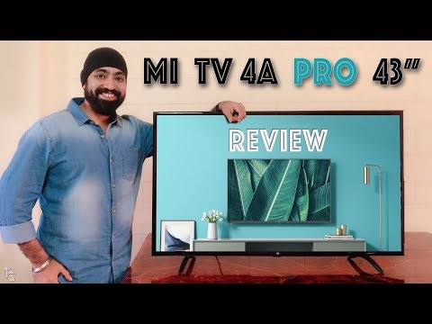 video Mi LED Smart TV 4A Pro 108 cm (43) with Android Review<span class=