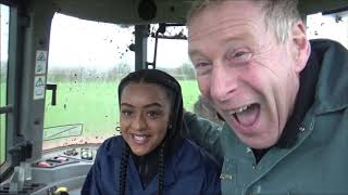 MC Paigey Cakey visits the farm.