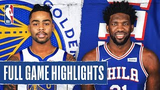 WARRIORS at 76ERS | FULL GAME HIGHLIGHTS | January 28, 2020