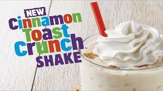 Burger King Cinnamon Toast Crunch Shake Review - CarBS