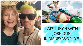 I ATE LUNCH WITH JOSH DUN IN DISNEY WORLD?!!?! // ASHLIE MARIE 2017