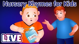 ChuChu TV Classics - Popular Nursery Rhymes & Songs For Kids - Live Stream - YouTube