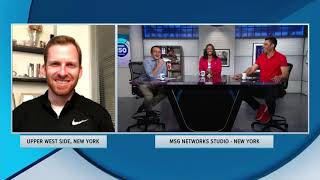 Knicks Radio Play-by-Play Announcer Ed Cohen Discusses Lottery Result | MSG 150