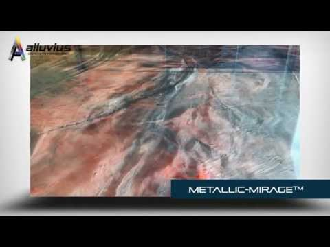 Alluvius METALLIC-MIRAGE Epoxy Garage Floor Coating
