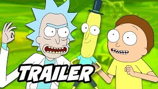 Rick and Morty Season 4 Thanksgiving Teaser Easter Eggs and References