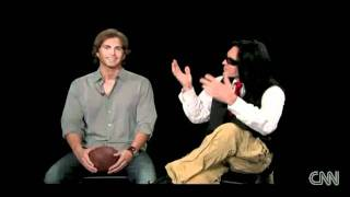 CNN Interview: 'The Room' - Tommy Wiseau and Greg Sestero pt1