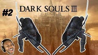 Dark Souls 3 Dex Build - Uchigatana Katana (Early) + Exploring Firelink | Dual Wield | Gameplay #2