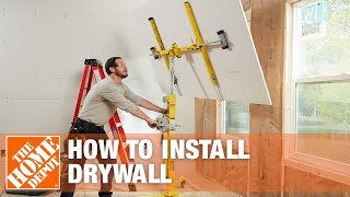How to Hang Drywall – Drywall Installation