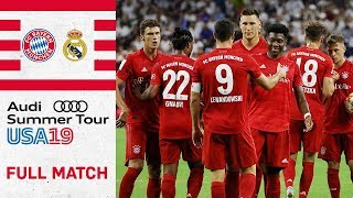 FC Bayern vs. Real Madrid 3-1 | Full Match | International Champions Cup 2019