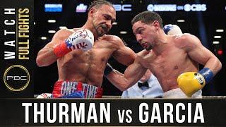 Thurman vs Garcia FULL FIGHT: March 4, 2017 - PBC on Showtime