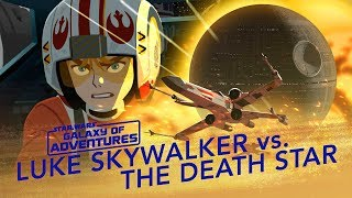 Luke vs. the Death Star – X-wing Assault | Star Wars Galaxy of Adventures