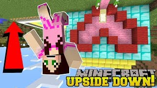 Minecraft: *IMPOSSIBLE* UPSIDE DOWN CHALLENGE!!! - Modded Challenge