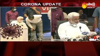 Vijay Sai Reddy press meet at Vizag-Corona crisis..
