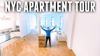 My New NYC Apartment Tour!! HUGE NYC LOFT