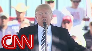 Trump pushes dem 'mobs' vs. GOP 'jobs' rhetoric