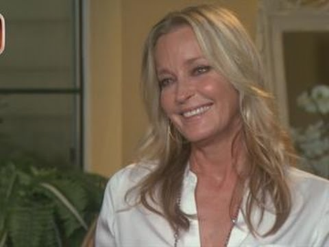 Bo Derek: 'Midlife Crisis' Prompted Grueling Swim - YouTube