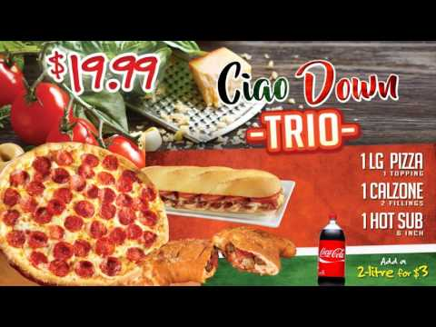 Marco's NEW Ciao Down Trio!