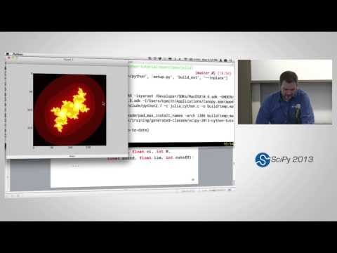 Image from Cython: Speed up Python and NumPy, Pythonize C, C++, and Fortran, SciPy2013 Tutorial, Part 4 of 4
