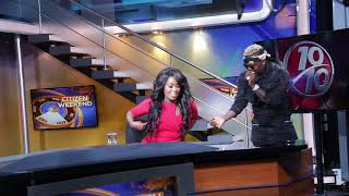 Harmonize Birthday Surprise At Citizen Television
