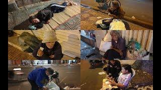 Gần 70 người vô gia cư bất ngờ nhận lì xì 500.000 trước đêm giao thừa