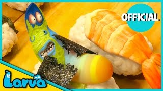 LARVA - SUSHI | 2016 Full Movie Cartoon | Cartoons For Children | LARVA Official