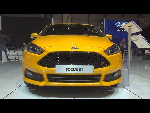 @Ford #Focus ST-3 5-door 2.0 EcoBoost 250 hp 6MT (2017) Exterior and Interior in 3D